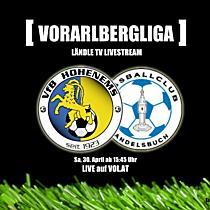 LIVE: VFB Hohenems vs. FC Andelsbuch