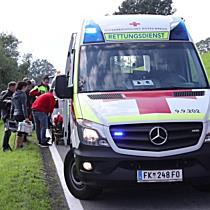 Unfall Jagdbergstrasse