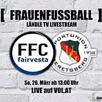 LIVE: FFC Vorderland vs. Union Geretsberg