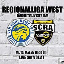 LIVE: VfB Hohenems vs. SCR Altach Amateure