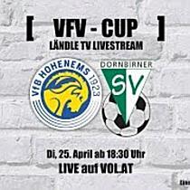 LIVE: VfB Hohenems vs. Dornbirner SV