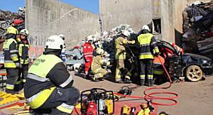 Technische Ausbildung der Vorarlberger Stützpunktfeuerwehren in Götzis