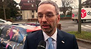 Innenminister Kickl in Vorarlberg: Keine Teaser für die Polizei