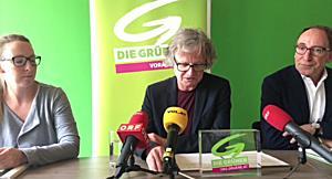 Adi Gross tritt als Klubobmann der Grünen Vorarlberg zurück