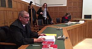 Prozessbeginn in Terrorprozess in Feldkirch