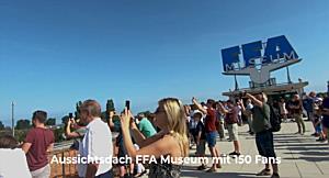 JU52 fliegt über den Bodensee