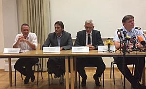 Pressekonferenz Schießerei Konstanz: Anschließende Fragerunde der Journalisten