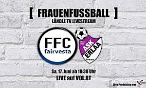 LIVE: FFC Vorderland vs. ASK Erlaa