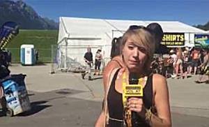 Greenfield Festival 2017 - Rundgang mit Redakteurin Sara und Kathi