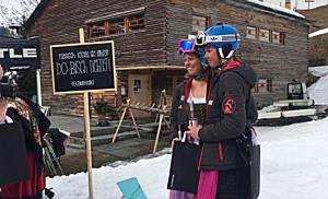 Impressionen vom Dirndl Skitag