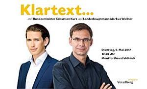 LIVE: Klartext... mit BM Sebastian Kurz und LH Markus Wallner