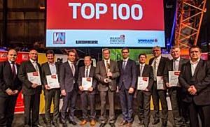 """VN-Wirtschaftspreis """"TOP100"""" 2017"""