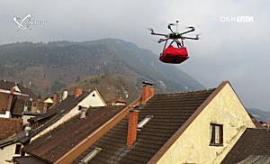 Fliegende Pizza sorgt für Turbulenzen in Bludenz