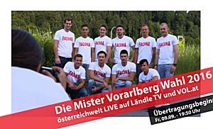 LIVE: Mister Vorarlberg Wahl 2016