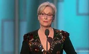 Meryl Streep kritisiert Donald Trump