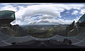 Die Karren-Kante in der 360°-Ansicht