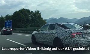 Erlkönig mit schwedischem Kennzeichen auf der A14 in Vorarlberg gesichtet