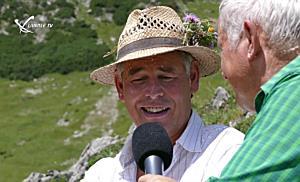 Begegnung am Berg mit Josef Türtscher