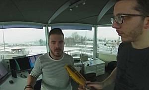 360 Grad: Im Tower des Flughafen Altenrhein
