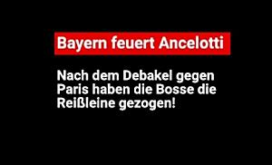 FC Bayern München feuert Ancelotti