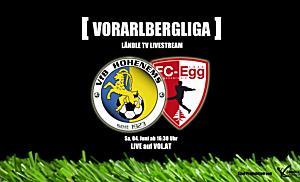 LIVE: VFB Hohenems vs. FC Egg