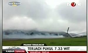 Bruchlandung in Papua