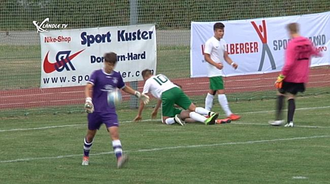 VFV-Finaltag U16: Austria Lustenau vs. TSV Altenstadt