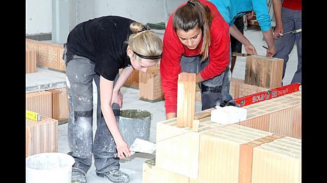 Einzigartiges Bauprojekt: Schüler sind stolz und motiviert