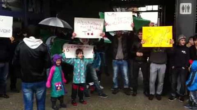 Demonstration gegen Abschiebung von Danial M. III