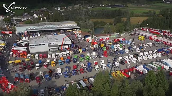 Ländle Truck Show bei Vögel Transporte