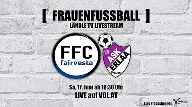 LIVE: FFC Vorderland vs. ASK Erlaa