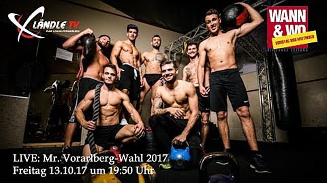 LIVE: Mr. Vorarlberg-Wahl 2017