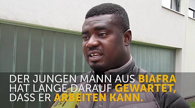 Von Biafra nach Vorarlberg: Emeka Amadi ist glücklich in Österreich zu sein