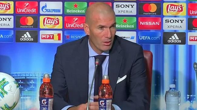 Zidane: Unser Team arbeitet sehr gut