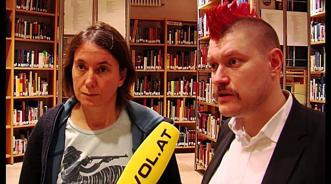 """Vorarlberg: Sascha Lobo und Kathrin Passig über """"Internet - Segen oder Fluch"""""""