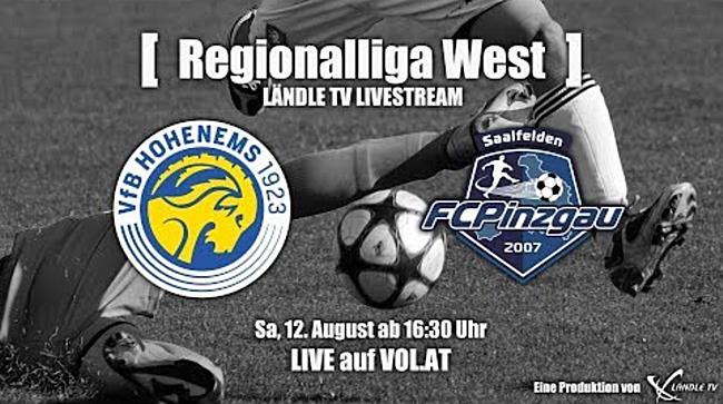 LIVE: VfB Hohenems vs. FC Pinzgau Saalfelden