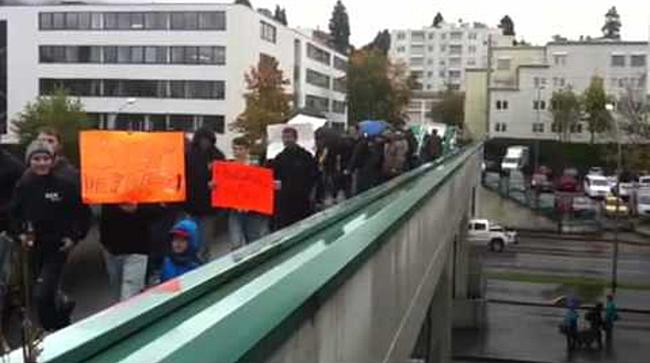 Demonstration gegen Abschiebung von Danial M. II