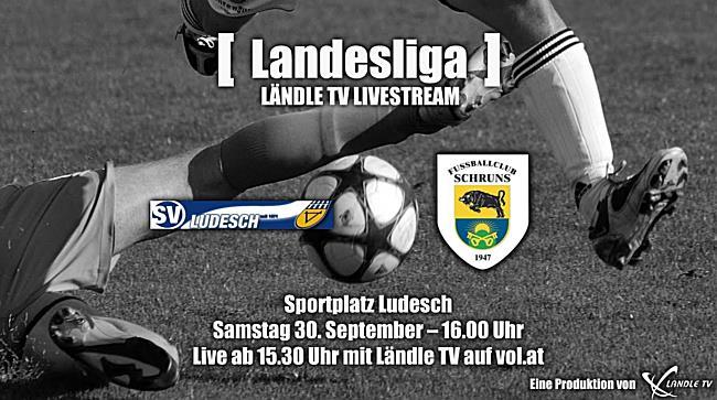 LIVE: SV Ludesch vs FC Schruns