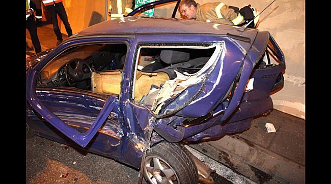Achraintunnel: Schwerer Verkehrsunfall