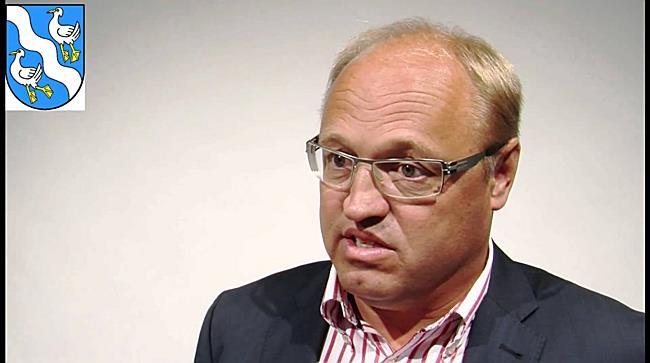 Bürgermeister Elmar Rhomberg im Gespräch
