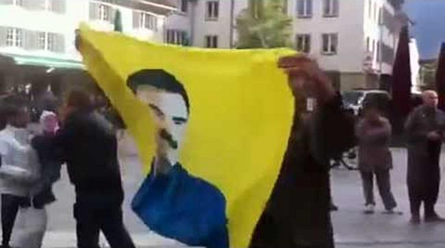 Kurden-Demo für Öcalan in Dornbirn