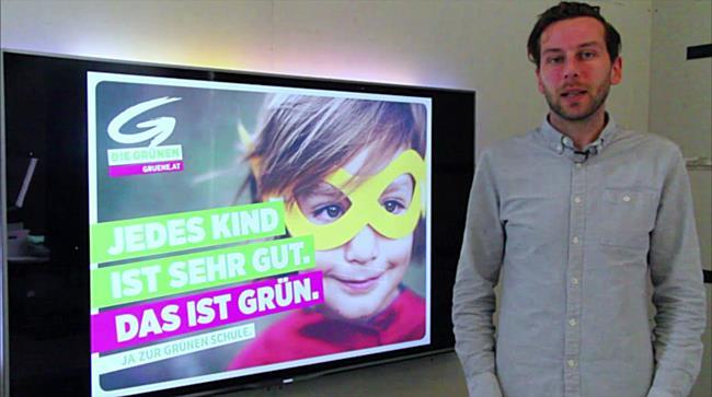 Kritik der Wahlplakate zur Nationalratswahl 2017: Die Grünen