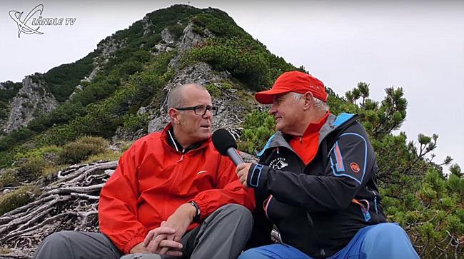 Begegnung am Berg mit Walter Gohm