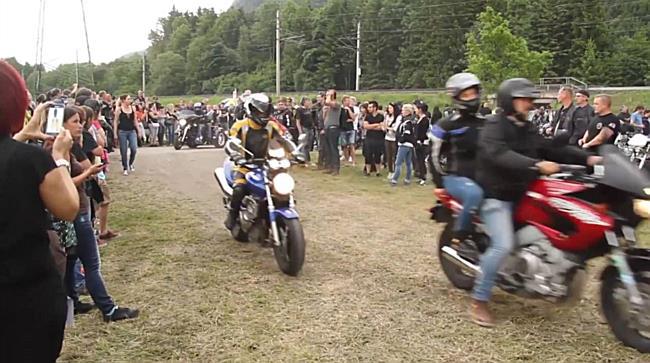Amoklauf in Nenzing: Biker zeigen Solidarität mit den Opfern