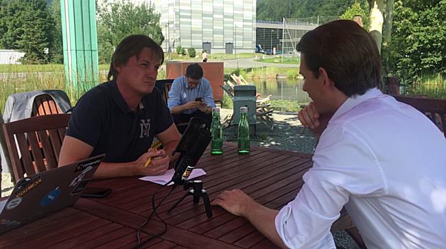 Im Gespräch: Sebastian Kurz - ÖVP