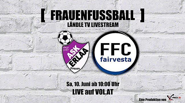 LIVE: ASK Erlaa vs. FFC Vorderland