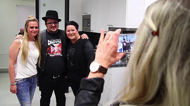 Meet&Greet mit Marc Amacher bei der Hells Angels Update Party