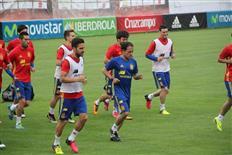 2. Training der spanischen Nationalmannschaft