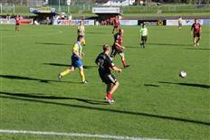 Begegnung der Legendenmannschaft des FC Schruns mit den AH des FC Freiburg