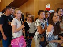 Besuch der Buchmesse der Mittelschule Schruns-Grüt